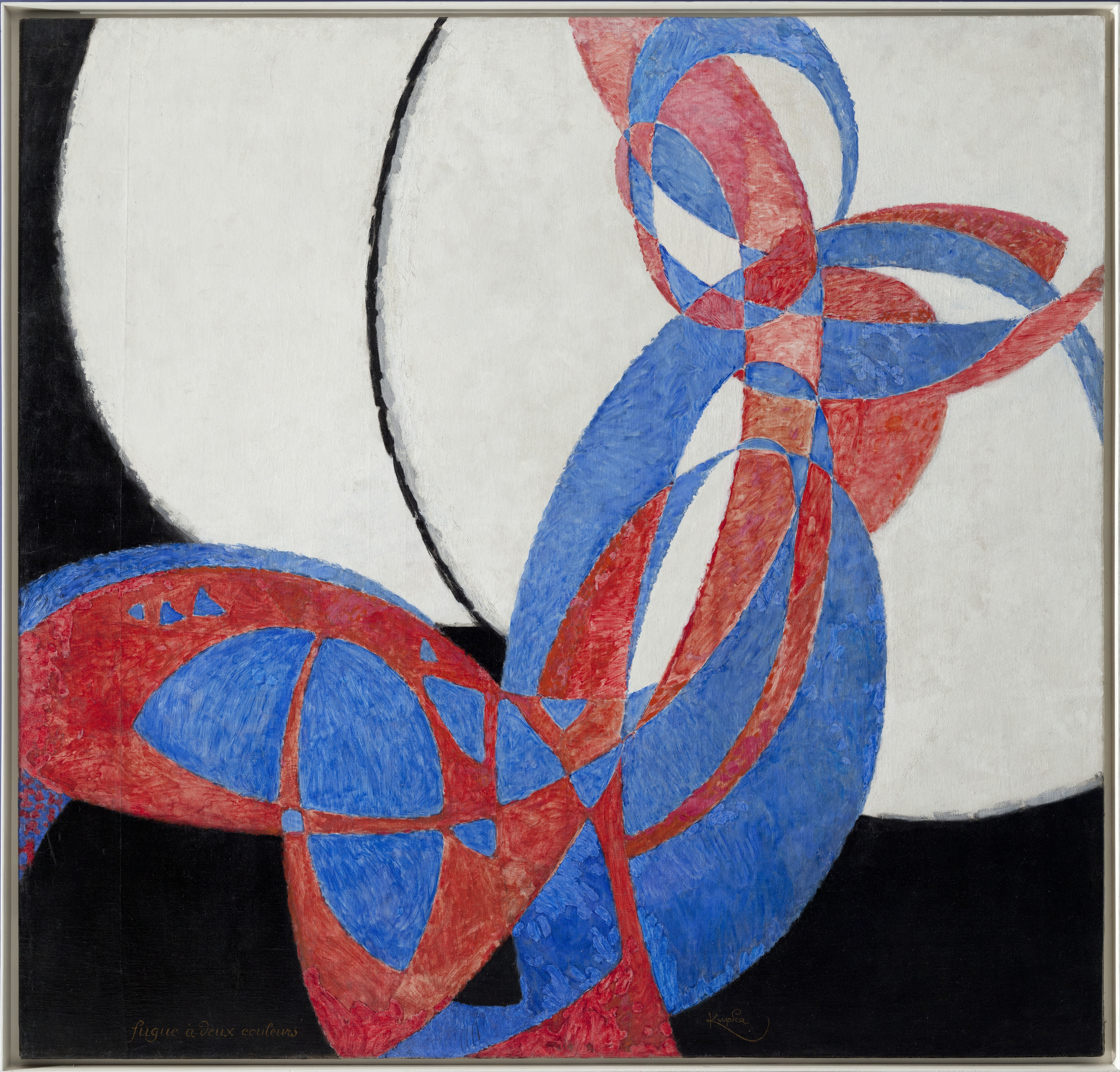 František Kupka, Amorpha. Two Colour Chromantics, 1912