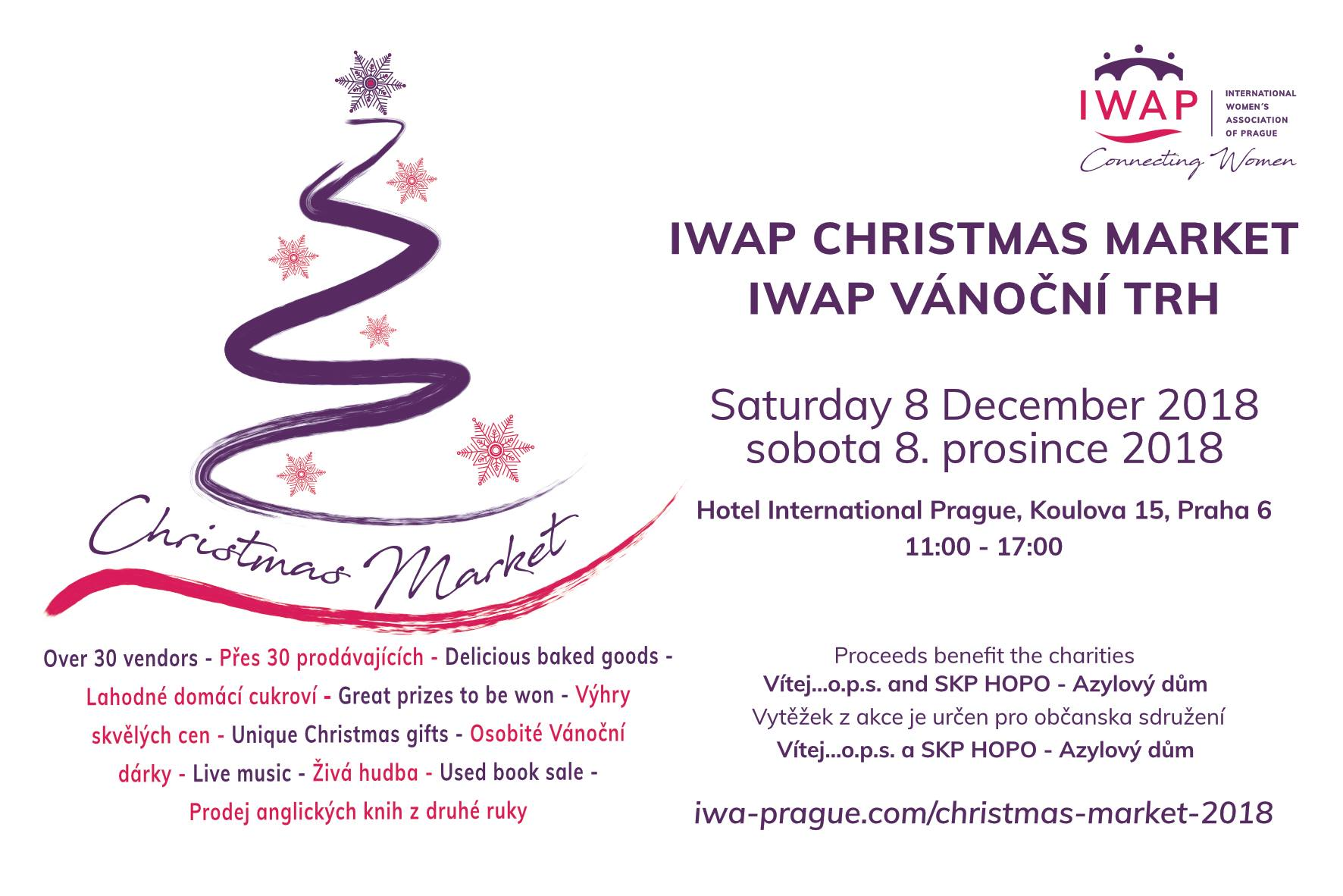 IWAP Christmas Market - Prague.eu