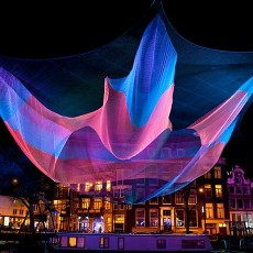 Prague Light Festival SIGNAL breathes life into nighty Prague (2015)