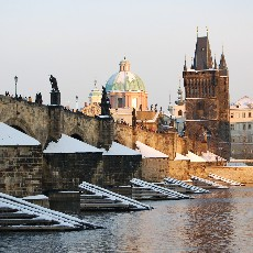 Prague's bridge of Charles IV