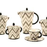 Pavel Janák: Kaffee-Set, Foto: Modernista