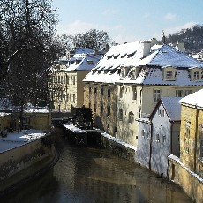 Kampa and the Lesser Town: Romance on the Left Bank of the Vltava