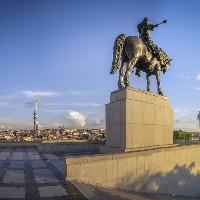 Statue of Jan Žižka on Vítkov Hill, photo: PCT