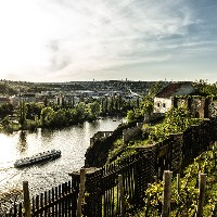 From Vyšehrad, photo: PCT