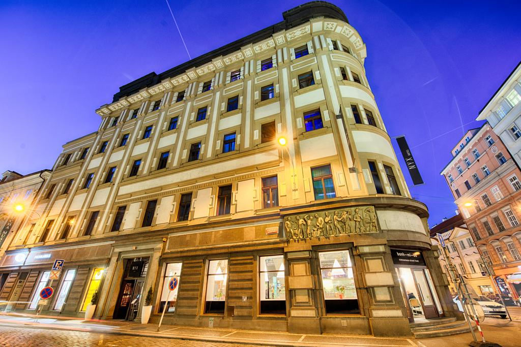 Nyx prague for Unique hotel prague