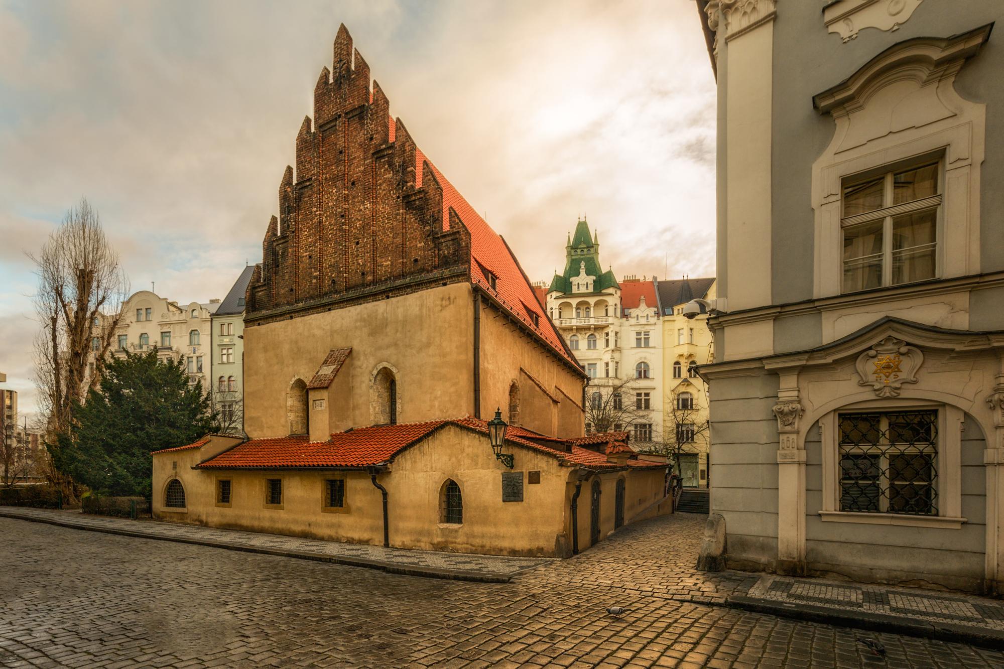 Old New Synagogue Staronov 225 Synagoga Prague Eu