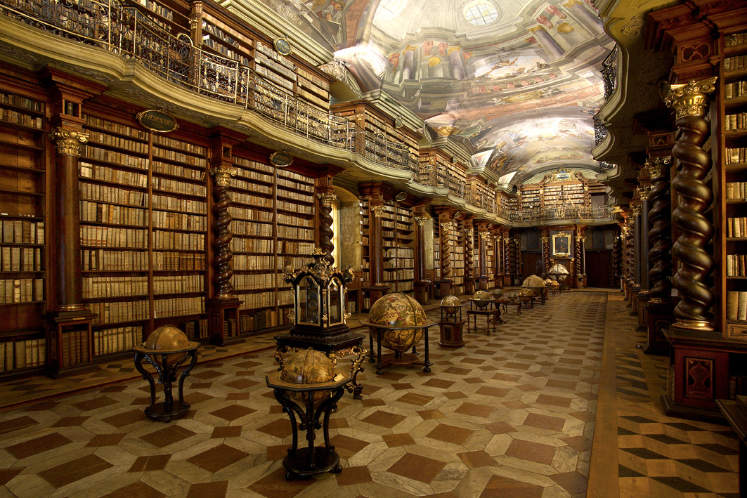 Image result for klementinum library